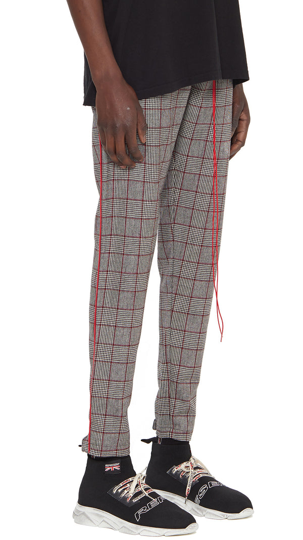 Track Pants - Small Check