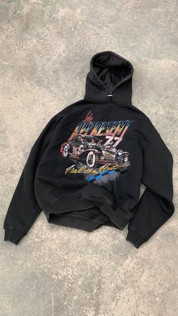 Feel The Heat Hoodie - Vintage Black