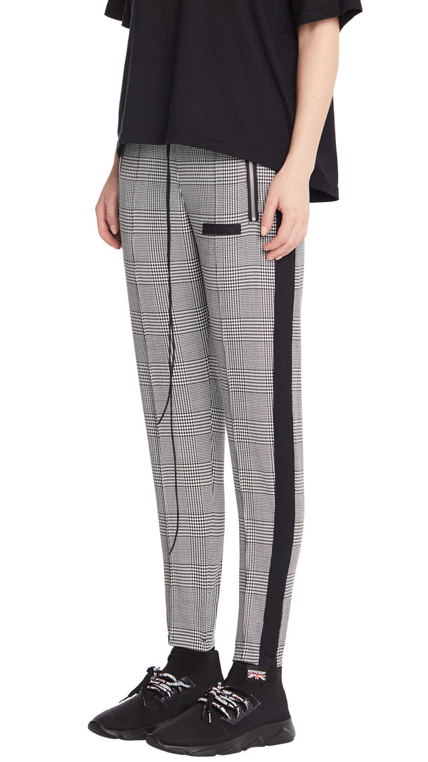 Women's Stirrup Pants - Check