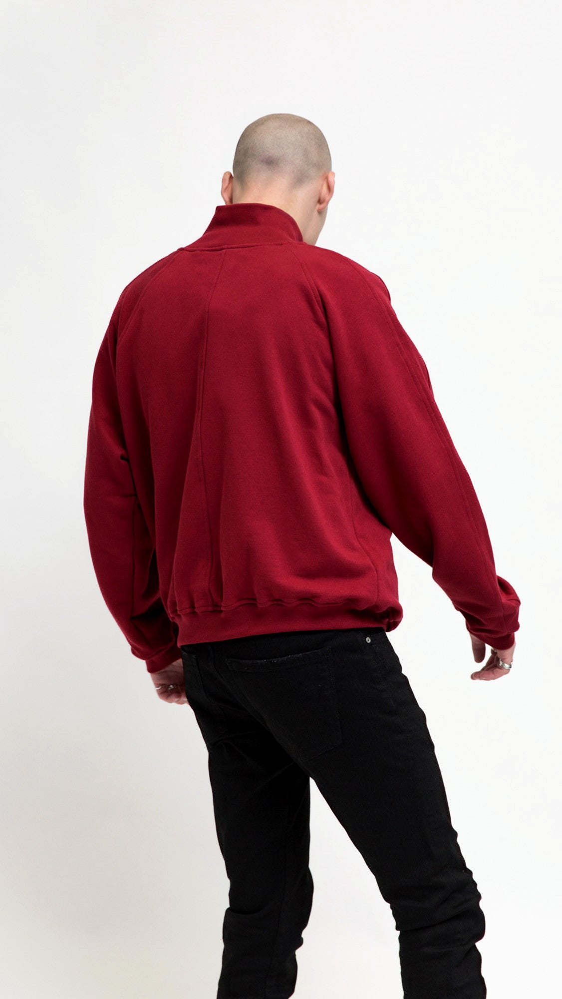 Track Jacket - Ox Blood