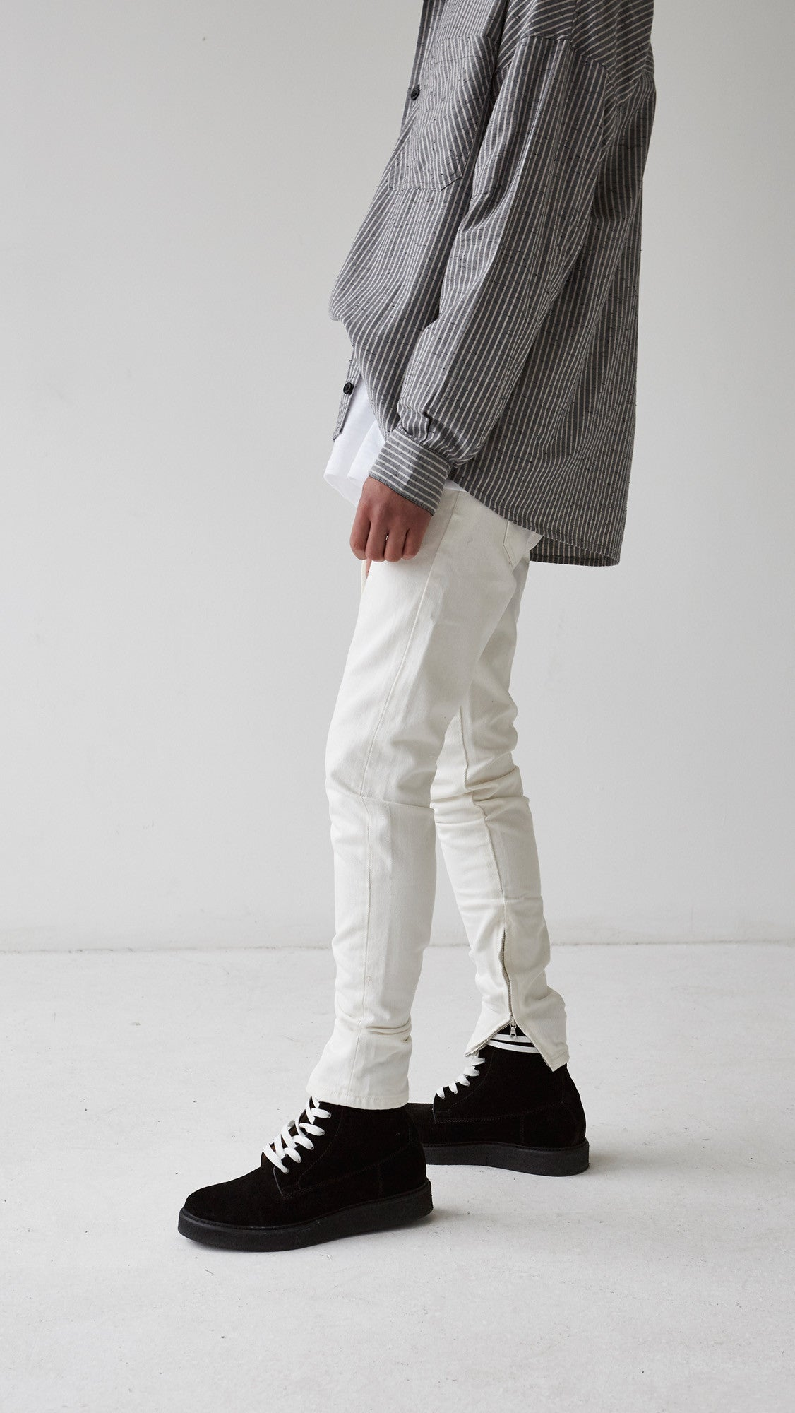 Basic Selvedge Denim - White