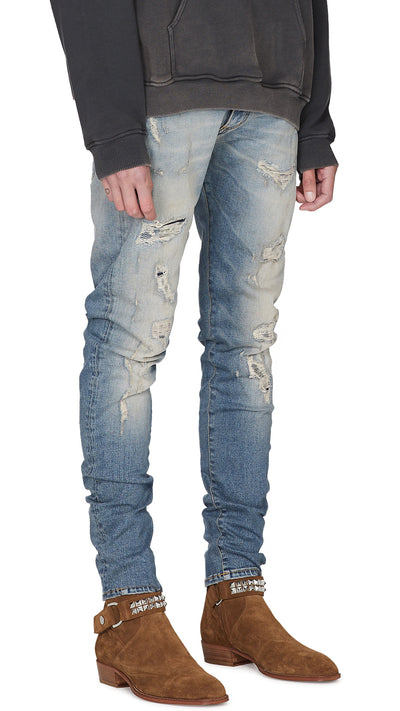 Repairer Denim - Sand Blue
