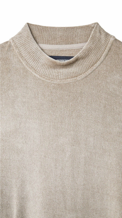 Towel Sweater - Almond