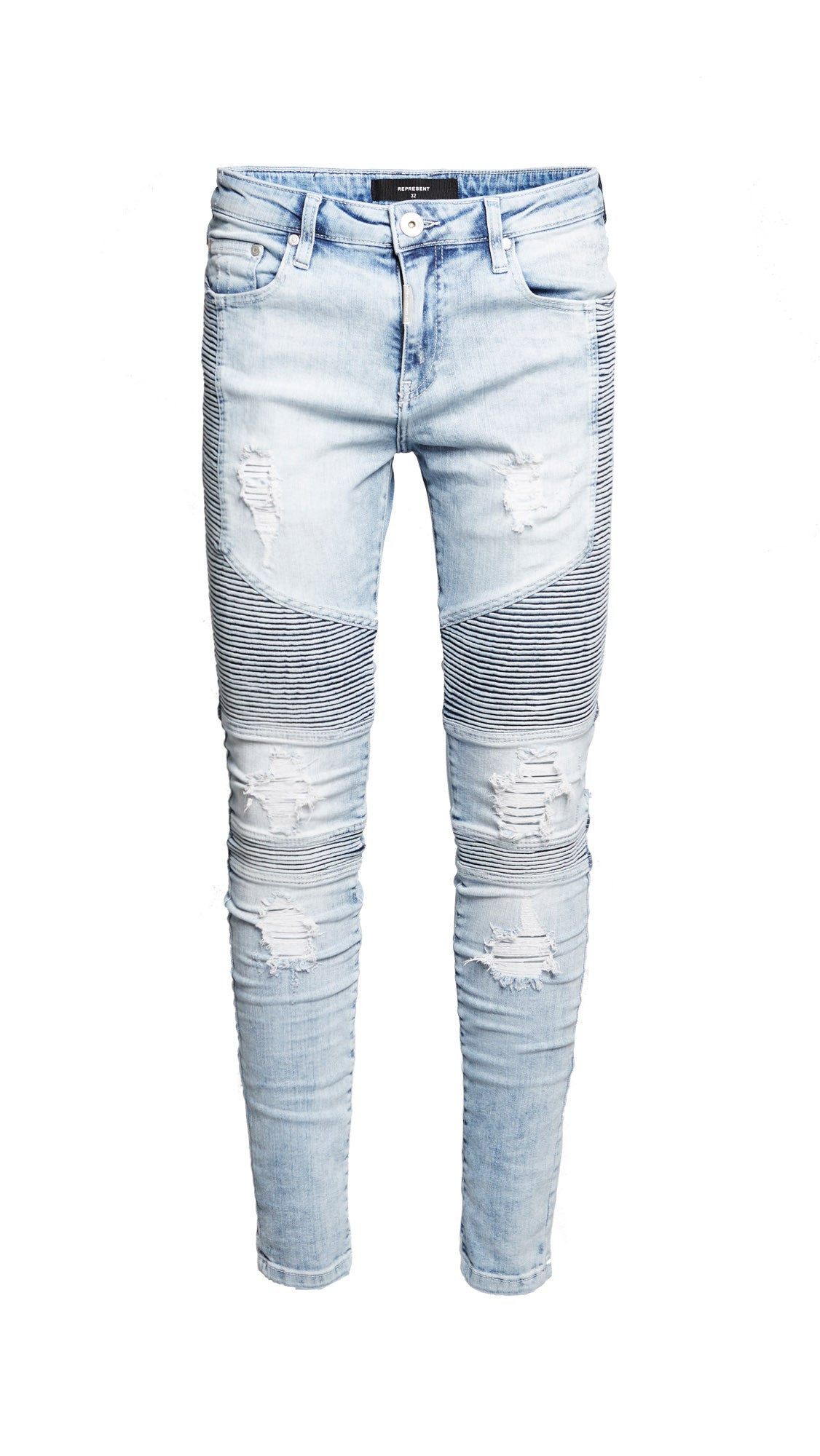 Biker Denim - Acid Blue