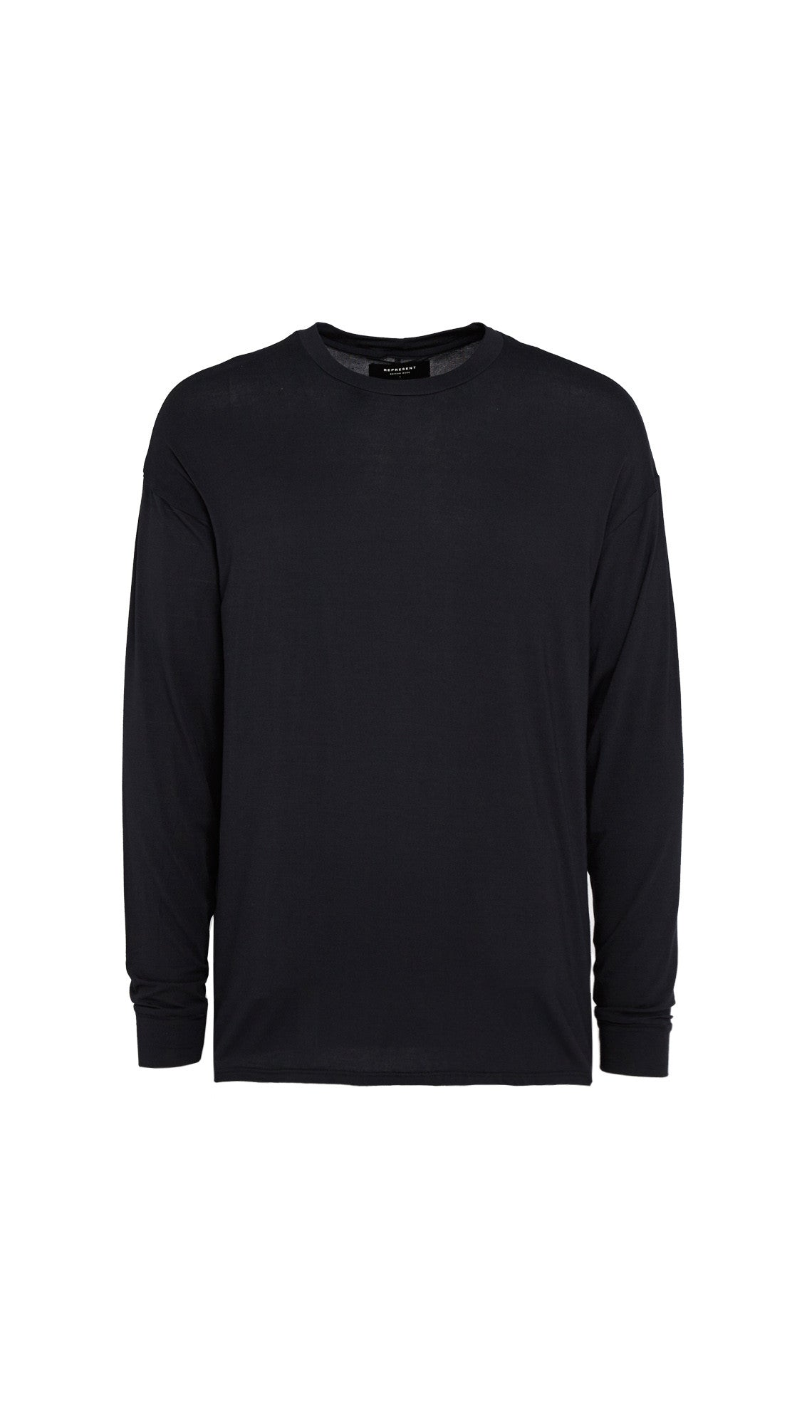 Long Sleeve Essential T-shirt - Black