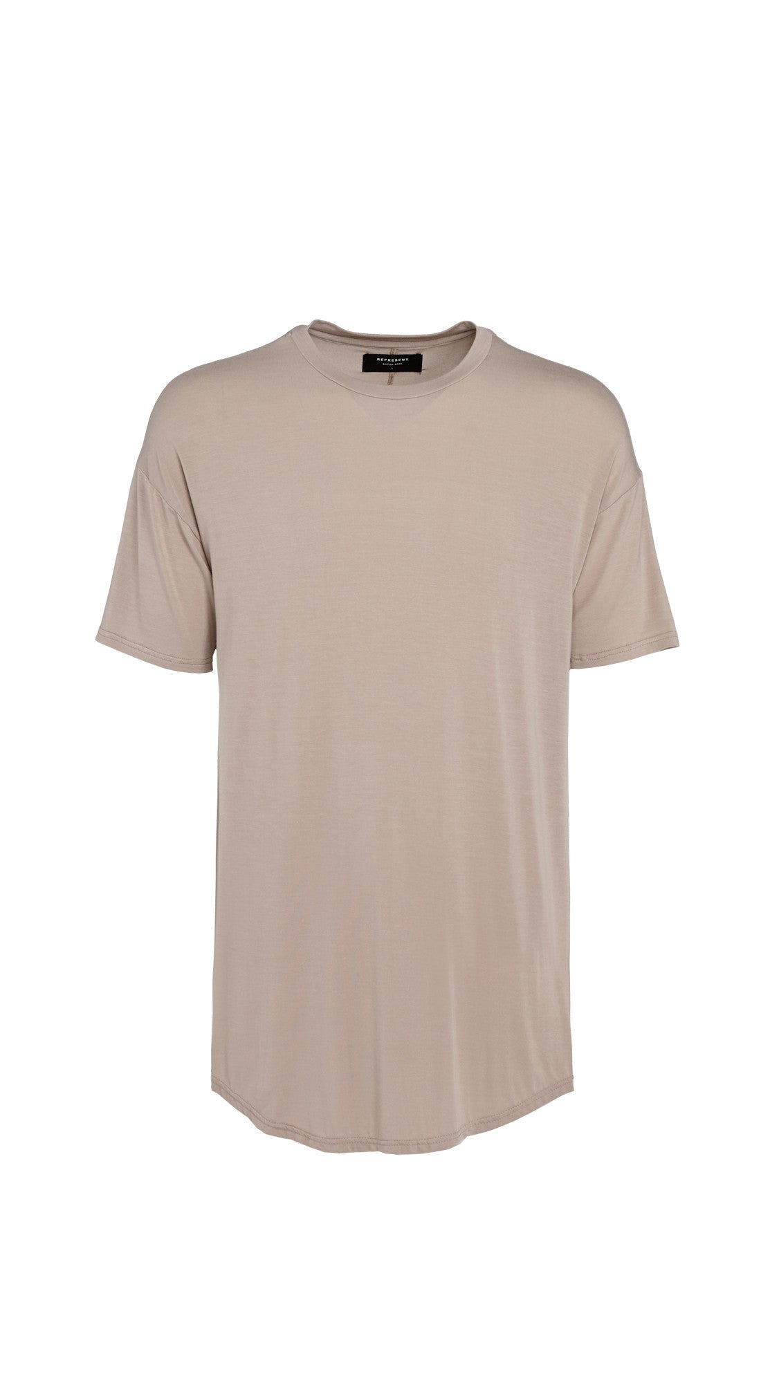 Essential Scooped T-shirt - Bone