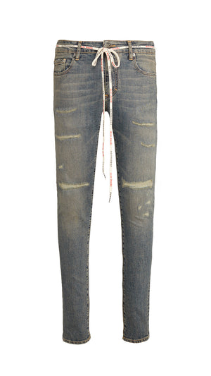 Repaired Denim - Rockstar Blue