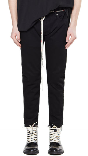 Relaxed Denim - Black