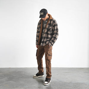 Sherpa Shirt - Brown