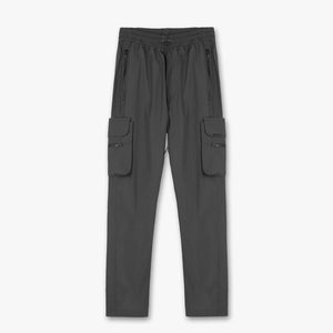 Nylon Detachable Pocket Pant - Charcoal Grey
