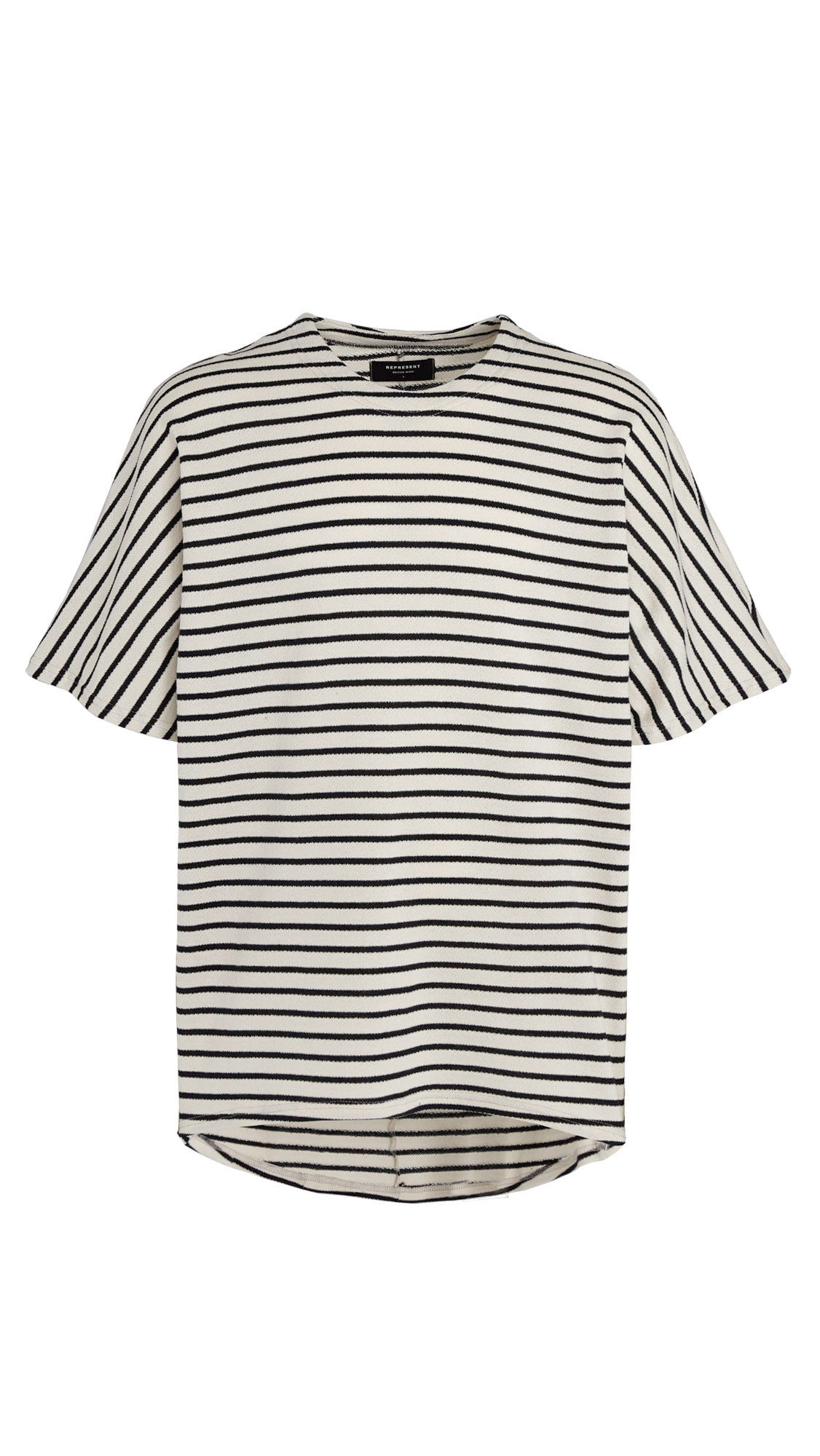 Scallop T-shirt - Striped
