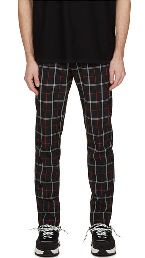 Smoking Pants - Black Check
