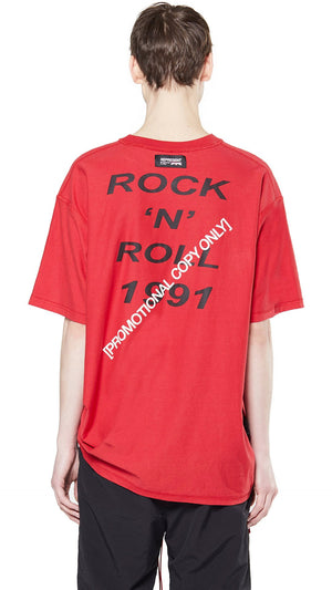Rock N Roll T-Shirt - Red