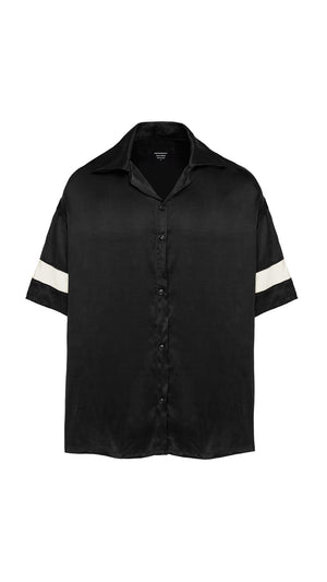 Shirt - Black Silk