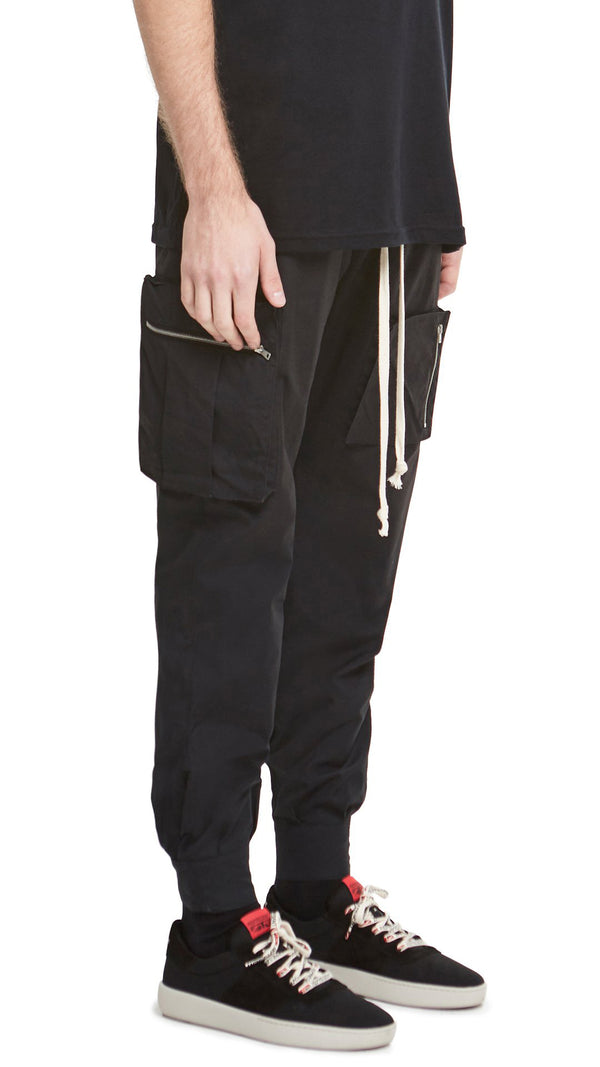 Winter Track Pants - Black