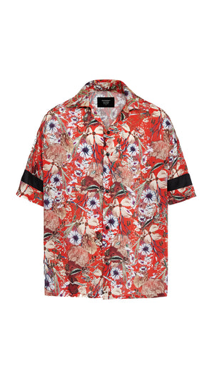 Shirt - Red Floral