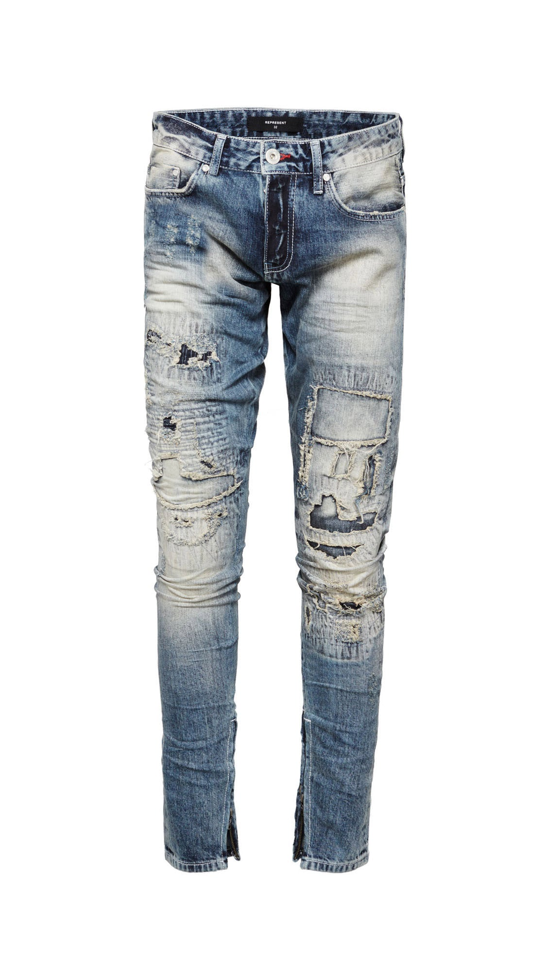 Repairer Selvedge Denim - Random Blue