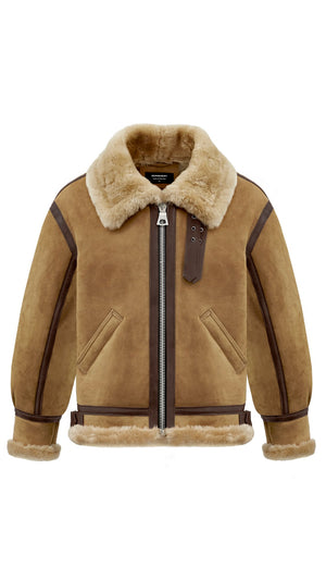 Shearling Jacket - Antelope