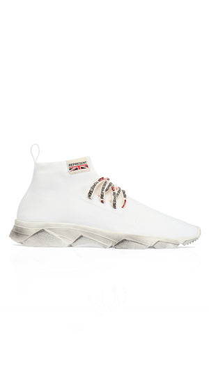 Racer Sneaker - All White