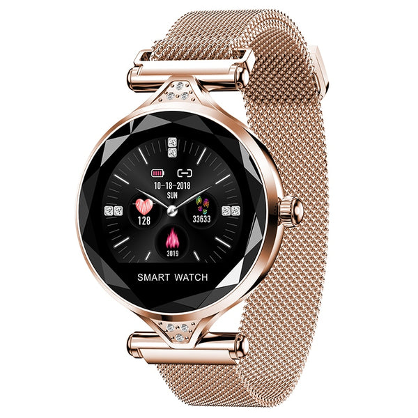 5879447a6 H1S Ladies Smartwatch Wearable Device Bluetooth Pedometer Heart Rate  Monitor For Android   IOS - Technify ...