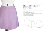 New pattern: Hagen skirt