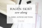 Hagen skirt sew-along - Part 1