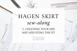 Hagen skirt sew-along - Part 2