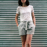 Made by you - Paper bag waist shorts
