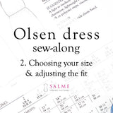 Olsen dress sew-along - Part 2