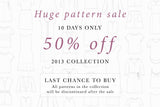 Huge pattern sale!