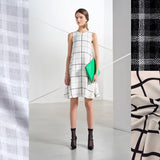 Runway inspiration: Modern plaid