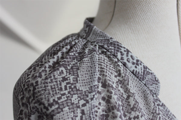New sewing pattern collar detail