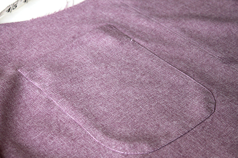 Curved patch pocket tutorial