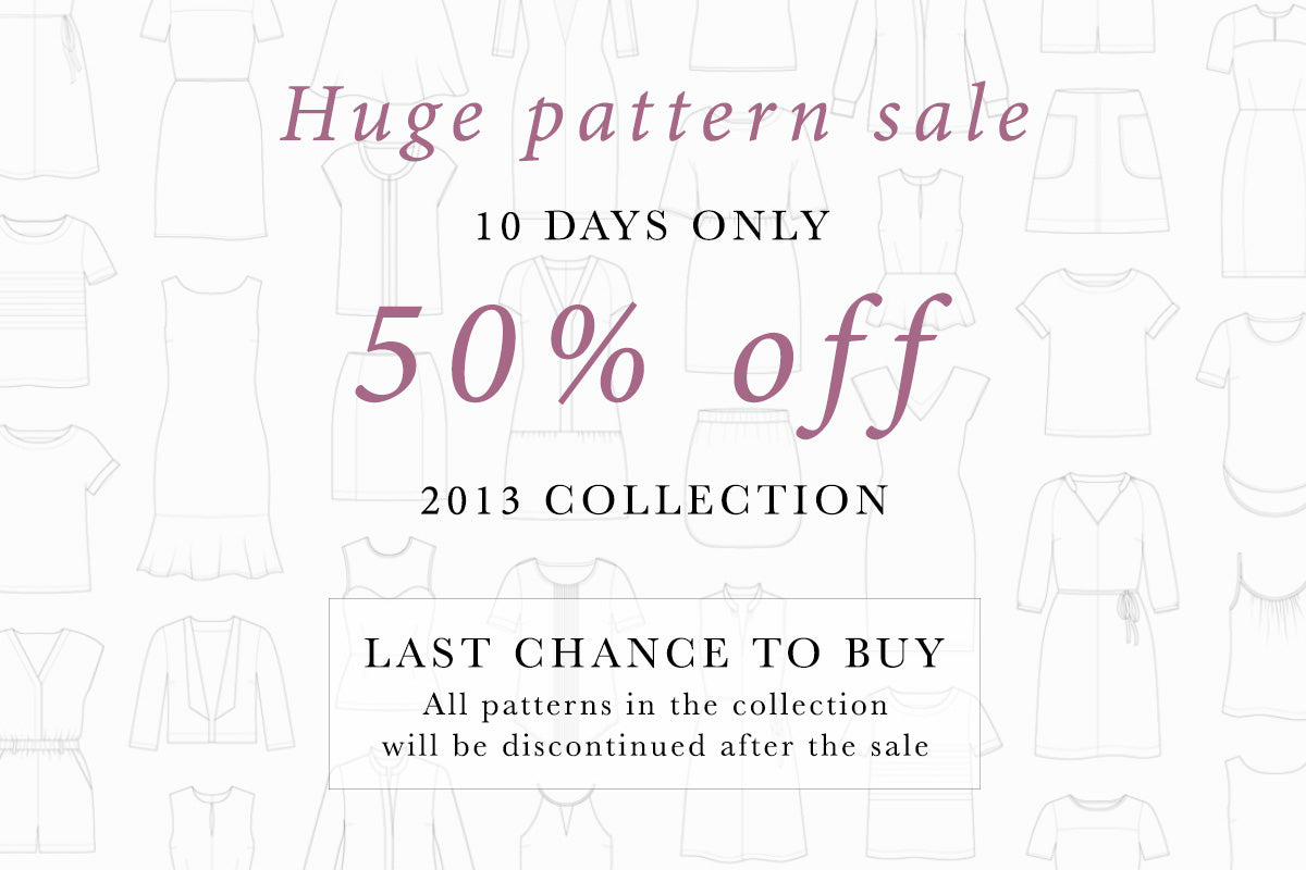 Sewing pattern sale