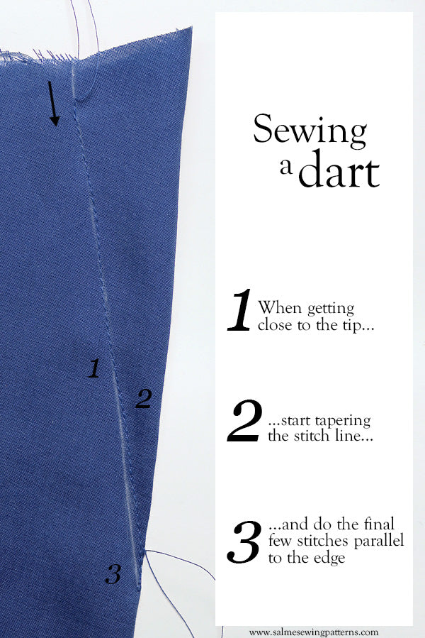Sewing a dart