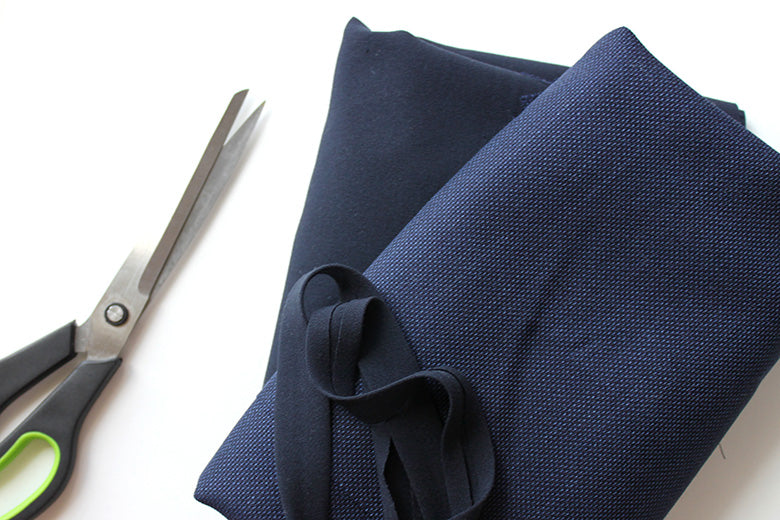 My sewing projects: Shades of blue dress