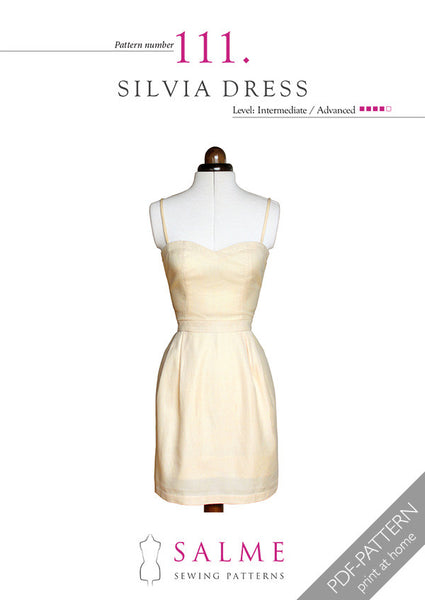 Digital Sewing Pattern - Silvia Dress