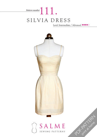 Pattern no 111 Silvia dress