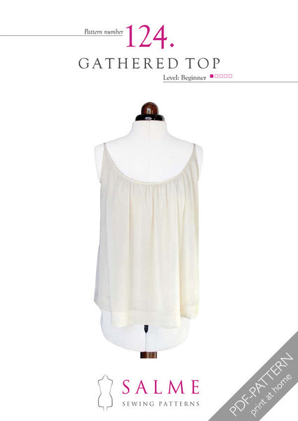Digital Sewing Pattern - Gathered Top