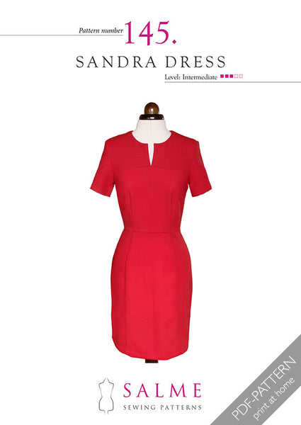 Digital Sewing Pattern - Sandra Dress