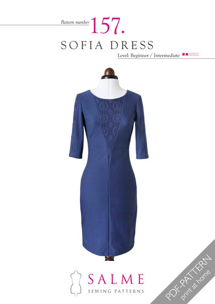 Digital Sewing Pattern - Sofia Dress
