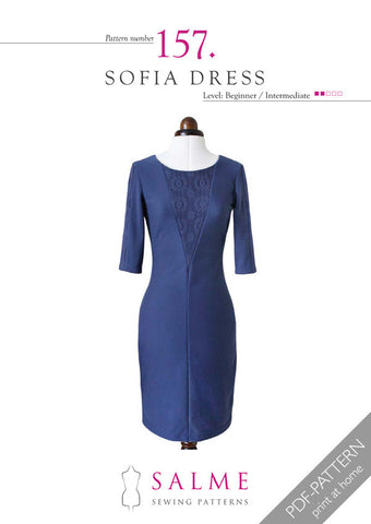 Pattern no 157 Sofia dress
