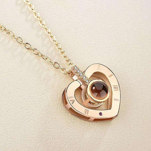 """My Heart"" I Love You 100 Languages Necklace - 1onelove.com"