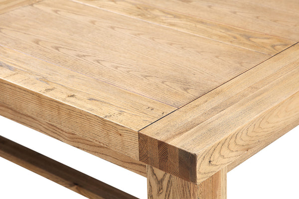 Angle de Table en Bois Etabli