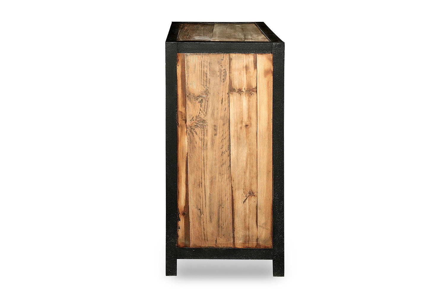 buffet industriel en bois et m tal rose moore. Black Bedroom Furniture Sets. Home Design Ideas