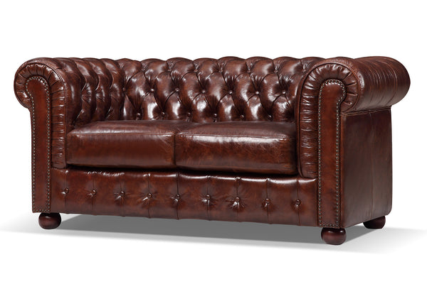 Canapé Chesterfield Original en cuir