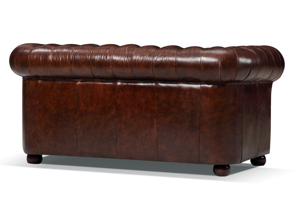 Dos du canapé Chesterfield Original