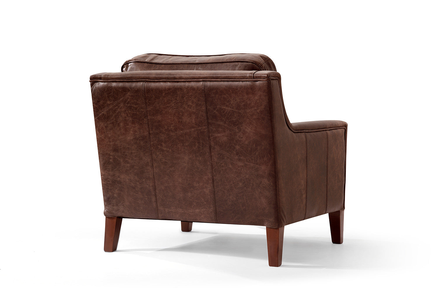 fauteuil anglais en cuir art d co oxford rose moore. Black Bedroom Furniture Sets. Home Design Ideas