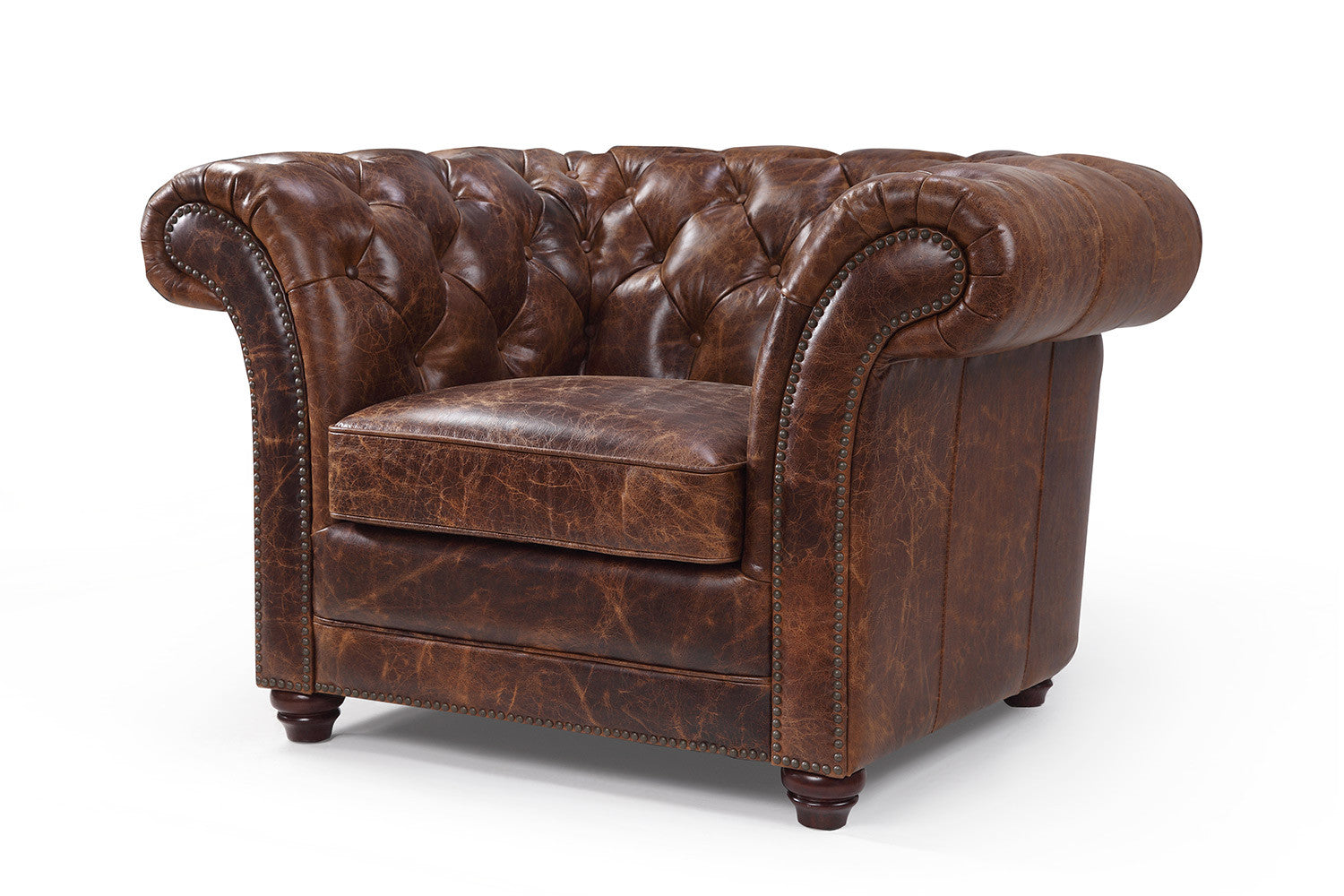 fauteuil chesterfield en cuir westminster rose moore. Black Bedroom Furniture Sets. Home Design Ideas
