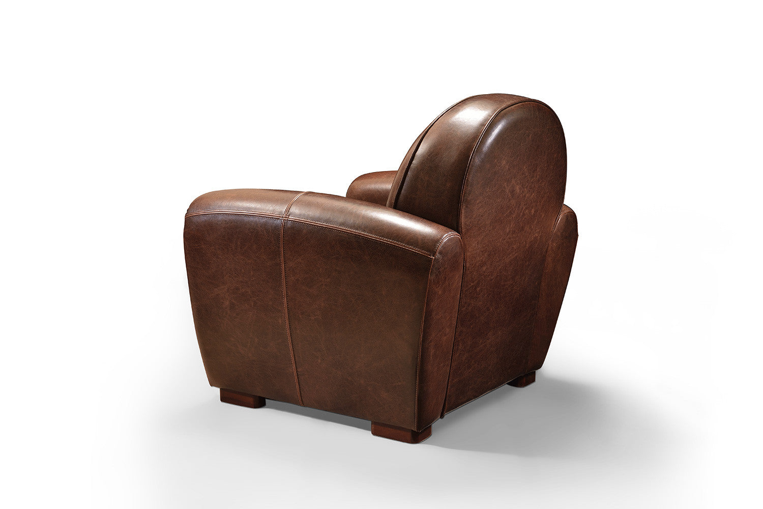 le fauteuil club 1930 ancien clous rose moore. Black Bedroom Furniture Sets. Home Design Ideas